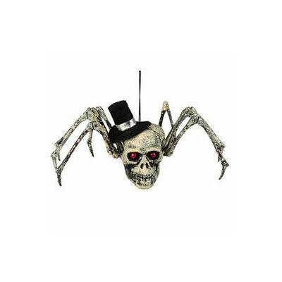 Koponyás Pók Dekoráció Helloweenre