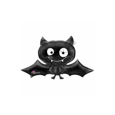 Black Bat - Denevér Mini Shape Fólia Lufi