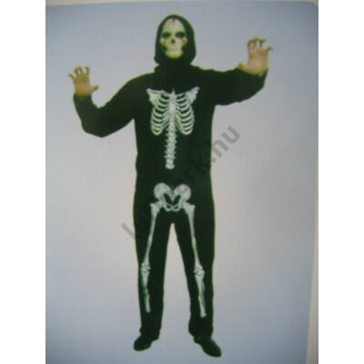 Felnőtt csontváz jelmez
