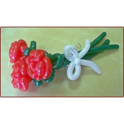 3 szálas rózsacsokor