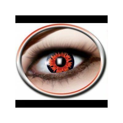 Színes kontaktlencse többször-piros