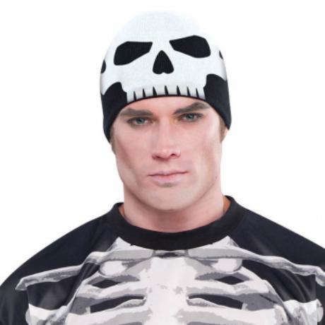 Csontváz kötött sapka