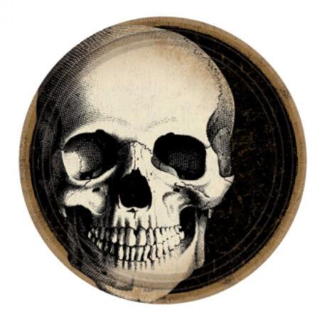 Boneyard koponyás tányér, 23 cm, 10db-os