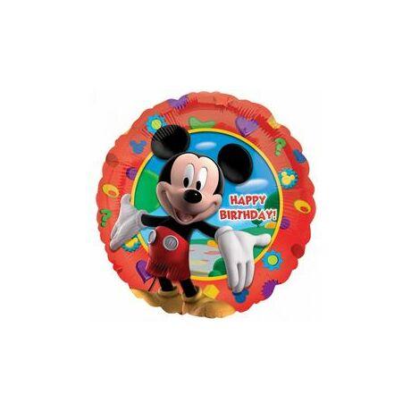 18 inch-es Mikiegér - Happy Birthday Mickey's Clubhouse - Fólia Léggömb