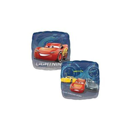 17 inch-es Cars 3 - Lightning McQueen and Friends Kétoldalú Fólia Léggömb