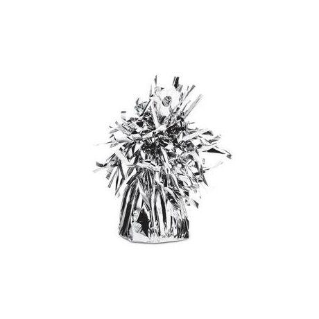 Ezüst Bojtos Fólia Léggömbsúly - 170 gramm