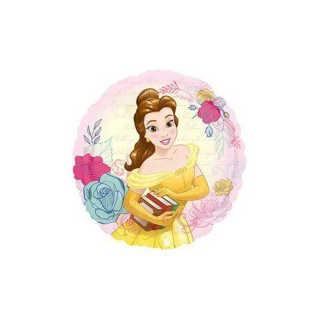 18 inch-es Beauty & the Beast - Szépség És A Szörnyeteg Belle Fólia Lufi/Léggömb - Disney Hercegnő Princess