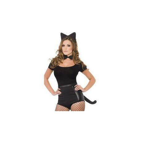 Fekete Cica Jelmezkellék Szett