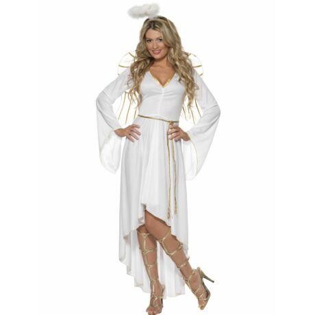 Fehér angyal női jelmez L