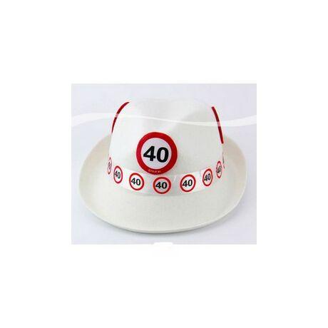 40. Számos Sebességkorlátozó Születésnapi Party Kalap