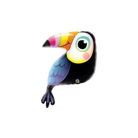 41 inch-es Colorful Toucan - Színpompás Tukán Madár Fólia Lufi