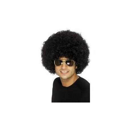 Fekete 1970-es Évekbeli Funky Afro Paróka