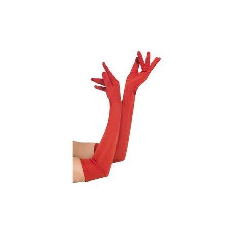 Hosszú Piros Kesztyű - 52 cm