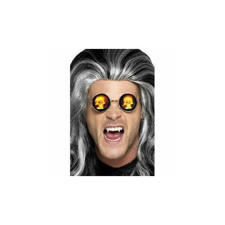 Holographic skull glasses