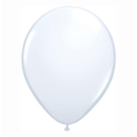 5 inch-es White (Standard) Kerek Lufi