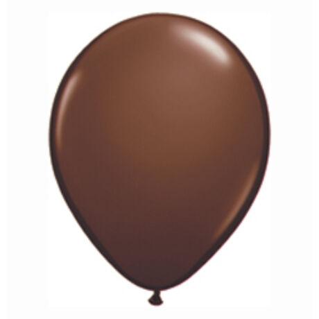 5 inch-es Chocolate Brown (Fashion) Kerek Lufi