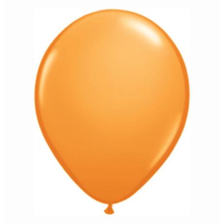11 inch-es Orange (Standard) Kerek Lufi