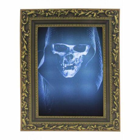 Halloween 3D képkeret fénnyel és hanggal