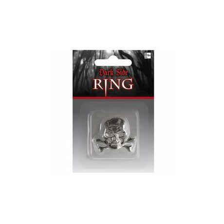 Koponya Mintás Gyűrű Halloween Jelmez Kiegészítő Ékszer