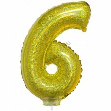 16 inch-es arany 6-os fólia lufi