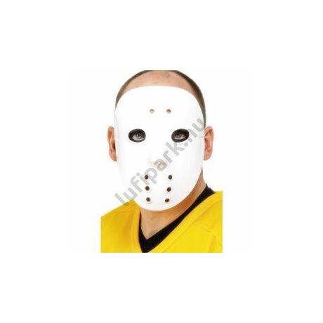 Műanyag Hockey Maszk fehér és fekete színben