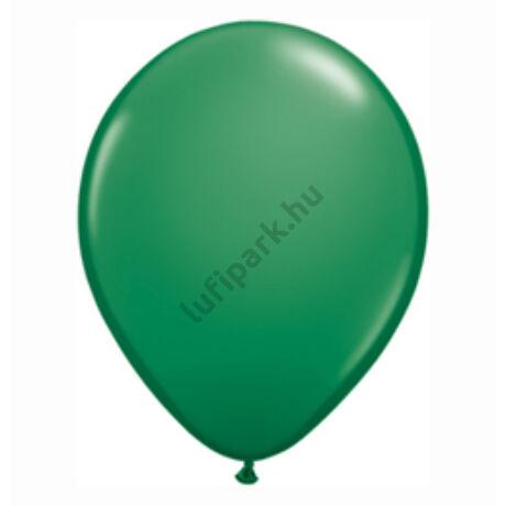 16 Inch-Es Green (Standard) Kerek Lufi