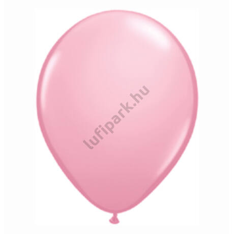 16 Inch-Es Pink (Standard) Kerek Lufi