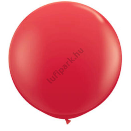3 Feet-Es Red (Standard) Kerek Latex Lufi