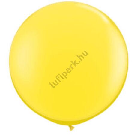 3 Feet-Es Yellow (Standard) Kerek Latex Lufi