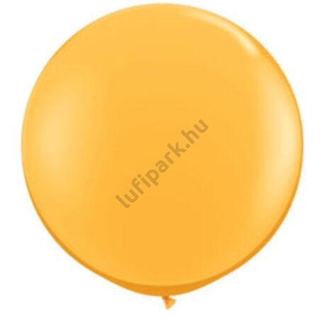 3 Feet-Es Goldenrod (Fashion) Kerek Latex Lufi