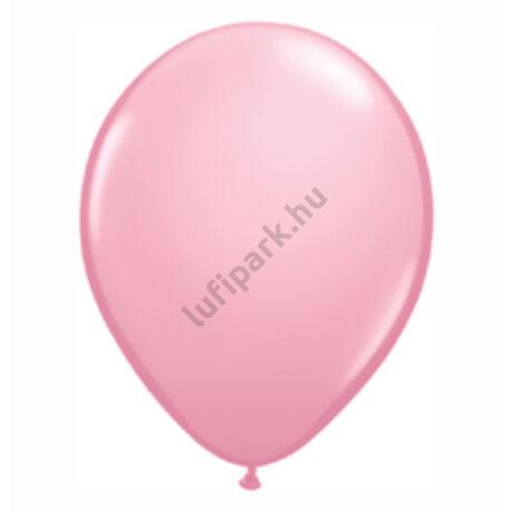 5 inch-es Pink (Standard) Kerek Lufi