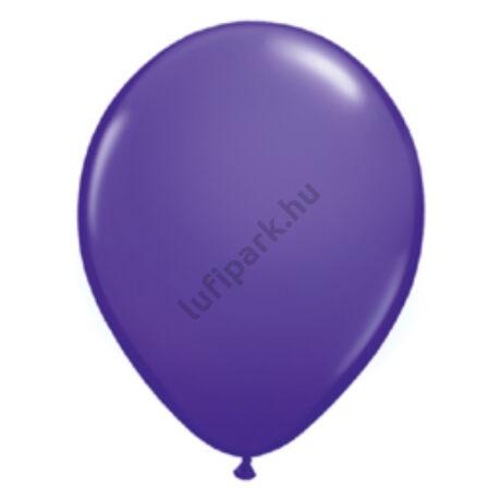 5 inch-es Purple Violet (Fashion) - Sötétlila Kerek Léggömb