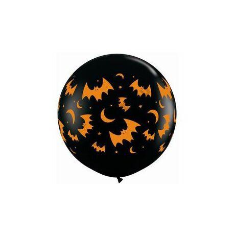 3 feet-es Flying Bats & Moons Wrap Lufi