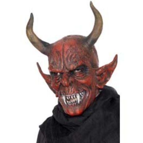 Piros Ördög Maszk Szarvakkal