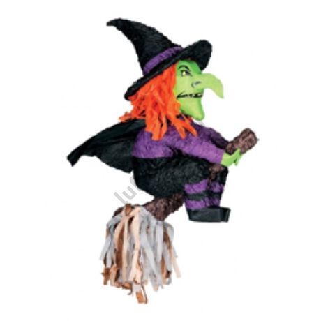 Boszorkány Seprűn Parti Pinata Játék Halloween-re