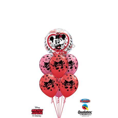 Love you Mickey&Minnie XL csokor