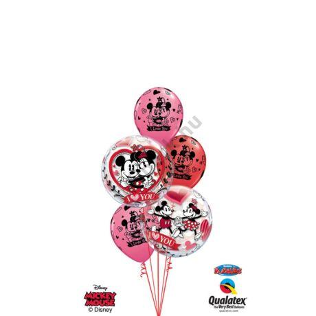 Love you Mickey&Minnie XXL csokor