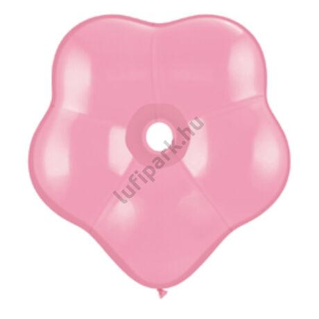 16 inch-es Pink (Standard) - Pink Blossom (virág) alakú Léggömb