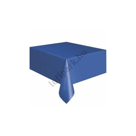 Royal Blue Műanyag Parti Asztalterítő - 137 cm x 274 cm