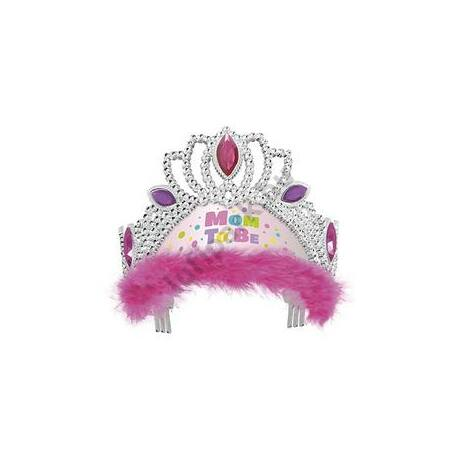 Pink Mom To Be - Kismama Party Tiara