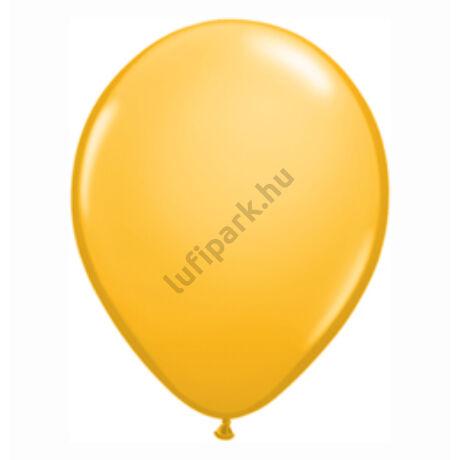 11 inch-es Goldenrod (Fashion) - Napsárga Kerek Léggömb