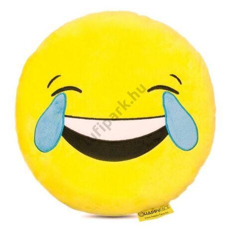 Sírvanevetős emoji párna