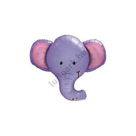 Elefántfej Fólia Léggömb