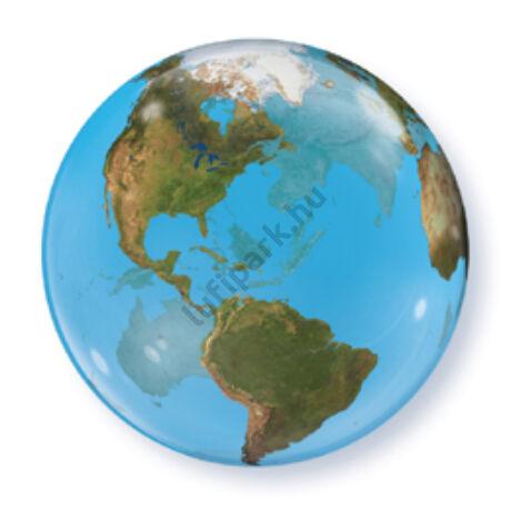 22 inch-es Földgömb Mintás - Planet Earth Bubble Léggömb