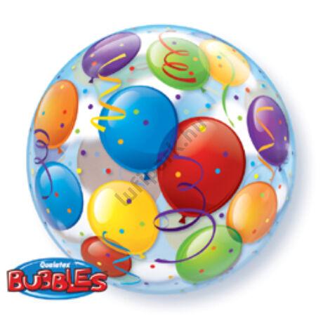 22 inch-es Léggömb Mintás - Balloons Bubble Léggömb