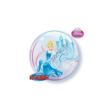 22 inch-es Disney bubbles Cinderella - Hamupipőke lufi