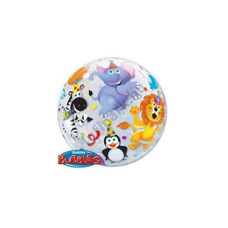 22 inch-es Parti Állatok - Party Animals Bubble Léggömb
