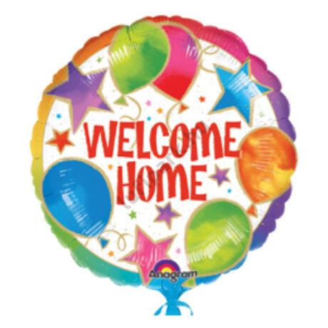 18 inch-es Welcome Home Celebration Fólia Lufi