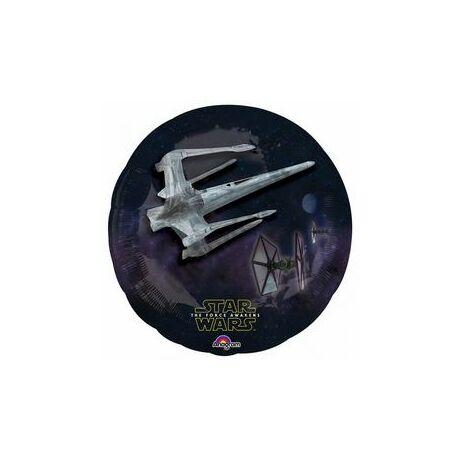 31 inch-es Star Wars The Force Awakens The Dark Side Fólia Léggömb - 3D