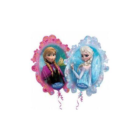 Frozen - Jégvarázs Kétoldalú Super Shape Léggömb